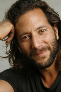 Henry Ian Cusick, on a happier day