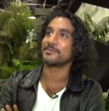 "Naveen Andrews in ""Ask Lost"""