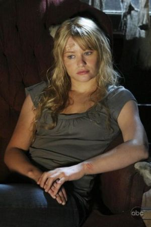 "Claire in Jacob's cabin, in Episode 4x11 ""Cabin Fever"""
