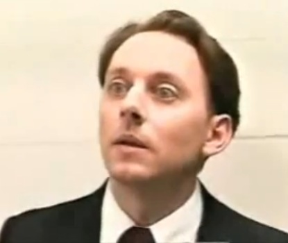 In 1992, Michael Emerson was already playing characters that hang out with people wearing jumpsuits ;)
