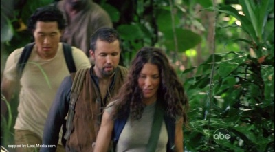 Kate leading group through jungle LOST 6x03