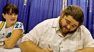 Beth (Sidekick22) and Jorge Garcia (Hurley)