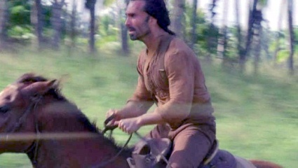 LOST Richard Alpert riding horse 6x09 Ab Aeterno