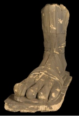 Four-toed foot remains of Taweret statue LOST auction