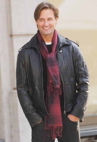 Josh Holloway (formerly Sawyer) on set of Mission Impossible movie