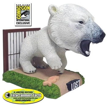 LOST polar bear bobble head